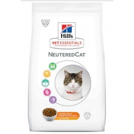 Hill's VetEssentials Neutered Cat Young Adult Poulet 1.5 kg - Dogteur