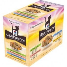Hill's Ideal Balance Sachets Mix 12 x 85 grs - Dogteur
