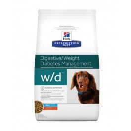 Hill's Prescription Diet Canine W/D MINI au poulet 1.5 kg - Dogteur