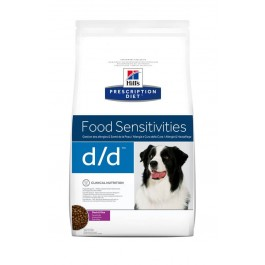 Hill's Prescription Diet Canine D/D Canard et Riz 12 kg - Dogteur