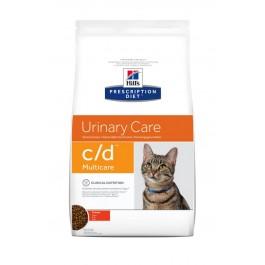 Hill's Prescription Diet Feline C/D Multicare au poulet 5 kg - Dogteur