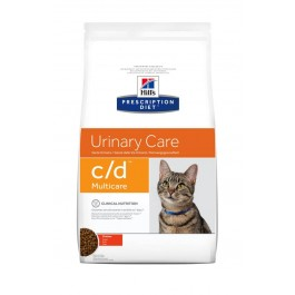 Hill's Prescription Diet Feline C/D Multicare au poulet 10 kg - Dogteur