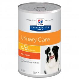 Hill's Prescription Diet Canine C/D Urinary Care Poulet 12 x 370 grs - Dogteur