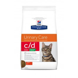 Hill's Prescription Diet Feline C/D (Multicare) Urinary Stress Light au poulet 4 kg - Dogteur