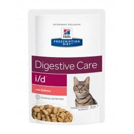 Hill's Prescription Diet Feline I/D Saumon SACHETS 12 X 85 grs - Dogteur