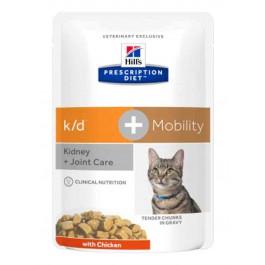 Hill's Prescription Diet Feline K/D + Mobility 12 x 85 g - Dogteur