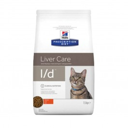 Hill's Prescription Diet Feline L/D 1.5 kg - Dogteur