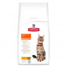 Hill's Science Plan Feline Adult Optimal Care Poulet 10 kg - Dogteur