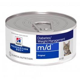 Hill's Prescription Diet Feline M/D Foie BOITES 24 x 156 grs - Dogteur