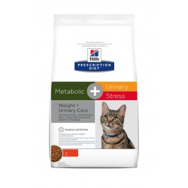 Hill's Prescription Diet Feline Metabolic + Urinary Stress 1.5 kg - Dogteur