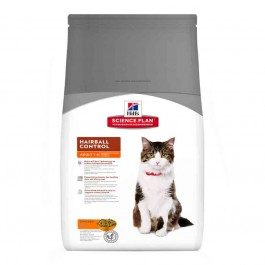 Hill's Science Plan Feline Adult Hairball Control Poulet 5 kg - Dogteur
