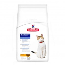Hill's Science Plan Feline Mature Adult Active Longevity Poulet 5 kg - Dogteur