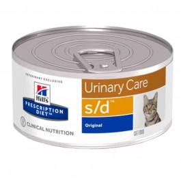 Hill's Prescription Diet Feline S/D BOITES 24 X 156 grs - Dogteur