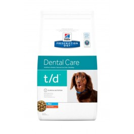 Hill's Prescription Diet Canine T/D MINI 3 kg - Dogteur