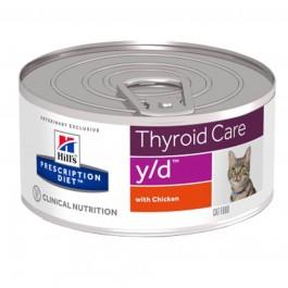 Hill's Prescription Diet Feline Y/D BOITES 24 x 156 grs - Dogteur