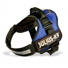 Harnais Power Julius-K9 Bleu M 51 à 67 cm - Dogteur