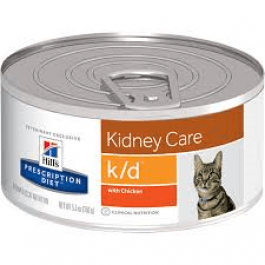Hill's Prescription Diet Feline K/D Poulet BOITES 24 X 156 grs - Dogteur