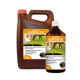 Kentucky Karron Oil pour le transit Intestinal Cheval 1 L - Dogteur