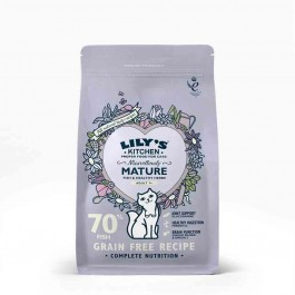 Lily's Kitchen Croquettes Sans Céréales au Poisson Chat Senior 800 g - Dogteur