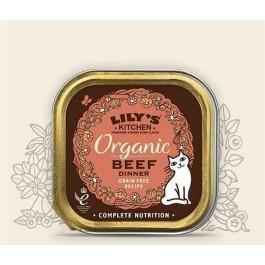 Lily's Kitchen Organic Délice de Boeuf Bio Chat 19 x 85 g - Dogteur