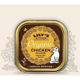 Lily's Kitchen Organic Délice de Poulet Bio pour Chat 19 x 85 g - Dogteur