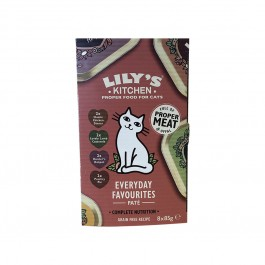 Lily's Kitchen Multipack pour Chat 8 x 85 grs - Dogteur