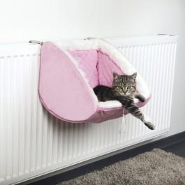Cat Princess lit radiateur 38 × 30 × 38 cm rose - Dogteur