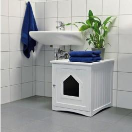Trixie Cabane pour bac à litière chat 49 × 51 × 51 cm - Dogteur