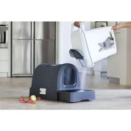 Maison de Toilette Curver Petlife Litter Box Anthracite - Dogteur