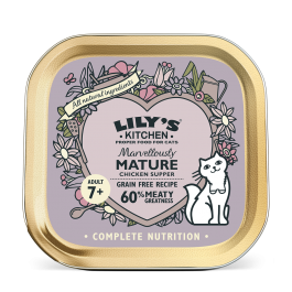 Lily's Kitchen Marvellously Chat Senior Poulet 19 x 85 g - Dogteur
