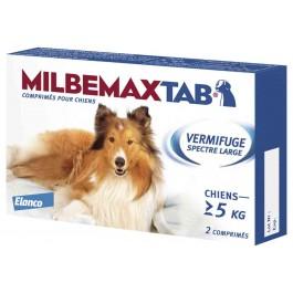 Milbemax Tab  vermifuge chien de plus de 5 kg - Dogteur