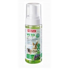Beaphar VETOpure Mousse répulsive antiparasitaire, rongeurs et petits mammifères 150 ml - Dogteur