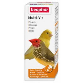 Beaphar MULTI-VIT vitamines oiseaux 50 ml - Dogteur