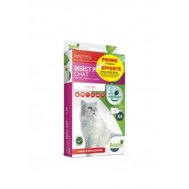 Offre: Naturlys Antiparasitaire Chat 3 pipettes + 1 offerte - Dogteur