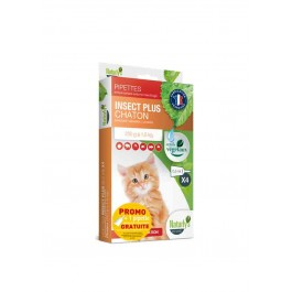 Offre: Naturlys Antiparasitaire Chaton 3 pipettes + 1 OFFERTE - Dogteur