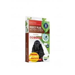 Offre: Naturlys Antiparasitaire Moyen Chien 10-25 kg 3 pipettes + 1 OFFERTE - Dogteur