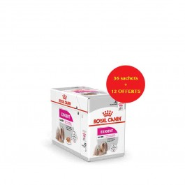 Offre Royal Canin Canine Care Nutrition Exigent mousse 36 sachets + 12 offerts