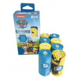 Paw Patrol sacs de propreté 8x20 jaune et bleu - Dogteur