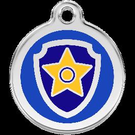Paw Patrol Médaillon d'identité bleu - Dogteur