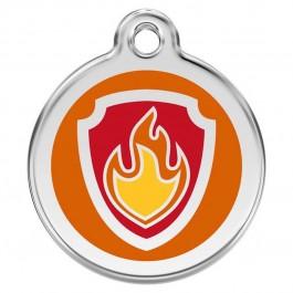 Paw Patrol Médaillon d'identité orange - Dogteur
