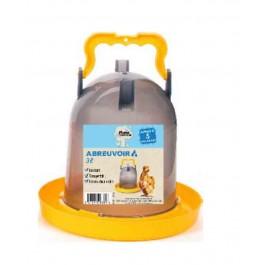 Plume & Compagnie Abreuvoir Portable 3 L - Dogteur