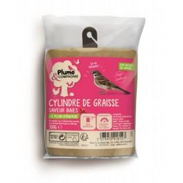 Plume & Compagnie Cylindre de Graisse saveur Baies 350 g - Dogteur
