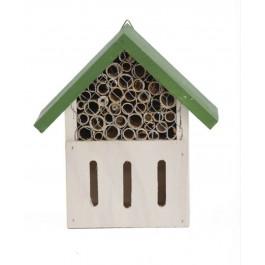 Plume & Compagnie Hotel à insectes petite taille 2 compartiments - Dogteur