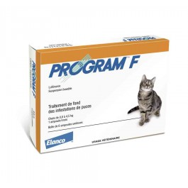 Program F pour chat - de 4.5 kg - Dogteur