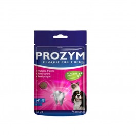 Prozym Plaque Off Croq chat et petit chien 60 grs  - Dogteur