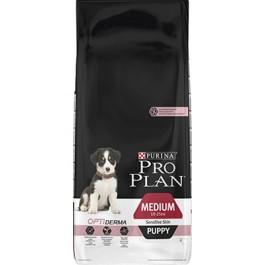 Purina Pro Plan Dog Medium Puppy Sensitive Skin OPTIDERMA 3 kg - Dogteur