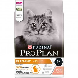Purina Proplan Cat Optiderma Elegant Adult Saumon 1,5 kg - Dogteur