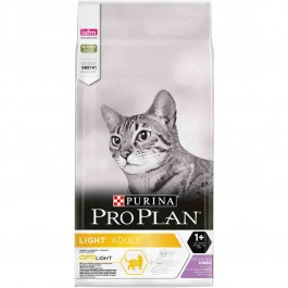Purina Proplan Cat Adult Optilight Dinde 10 kg - Dogteur
