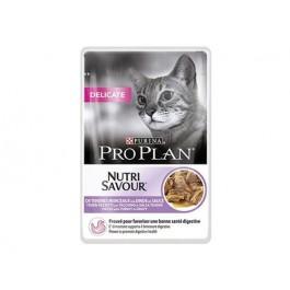 Purina Proplan Cat Nutrisavour Delicate Dinde 24 pochons 85 grs - Dogteur