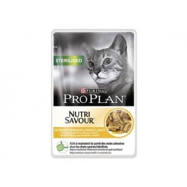 Purina Proplan Cat Nutrisavour Sterilised Poulet 24 pochons 85 grs - Dogteur